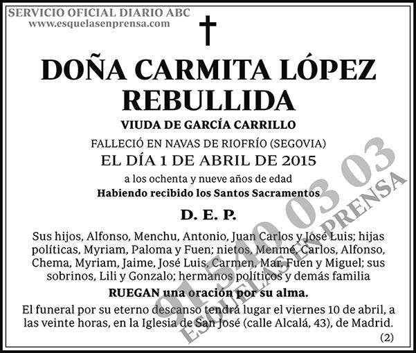 Carmita López Rebullida